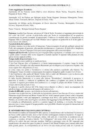 IL SENTIERO NATURALISTICO DEI COLLI EUGANEI CENTRALI N ...