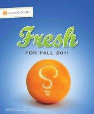 FOR FALL 2011 - Raincoast Books