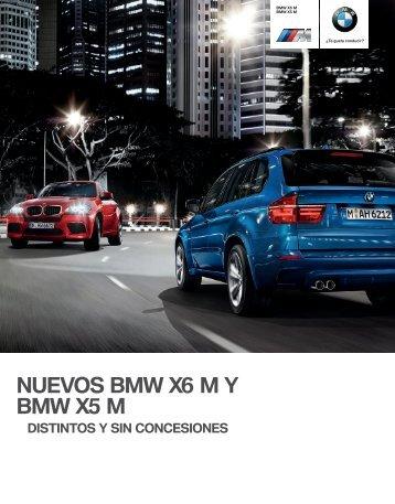NUEVOS BMW X M Y BMW X M de serie . También hay que ...
