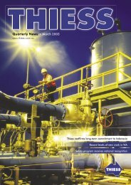 Quarterly News • March 2003 - Leighton Holdings