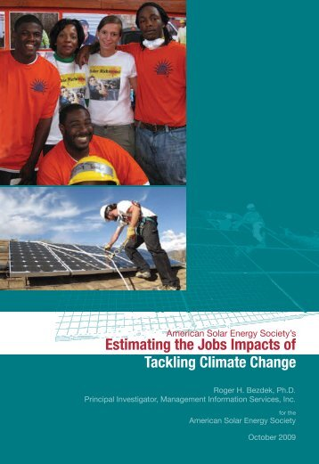 Estimating the Jobs Impacts of Tackling Climate Change