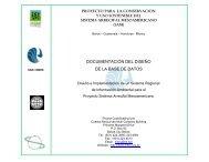 Documentación del Diseño de la Base de Datos ... - Mbrs.doe.gov.bz