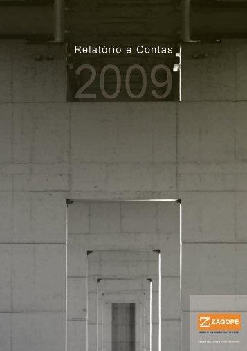 Relatório Gestão 2009 - Zagope