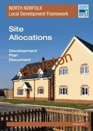 North Norfolk Site Allocations (Hoveton) - North Norfolk District Council