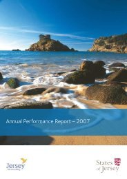 Annual Performance Report Ð 2007 - States of Jersey