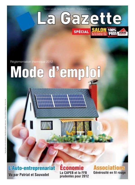La Rãglementation Thermique 2012 Doras