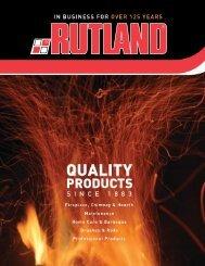 Rutland Accessories Complete Catalog - The Firebird