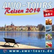 Laden Sie sich hier den AWO-TOURS Katalog 2014