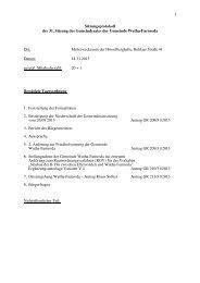 1 Sitzungsprotokoll der 31. Sitzung des ... - Wutha-Farnroda