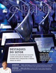 DESTAqUES DO SETOR - Revista O Papel