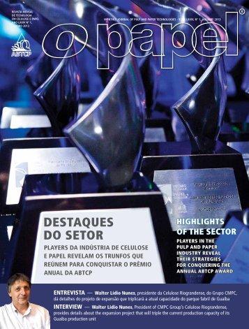 DESTAqUES DO SETOR - Revista O Papel