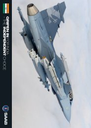 Gripen for India, fact sheet - Saab