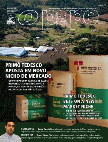 primo tedesco aposta em novo nicho de mercado - Revista O Papel
