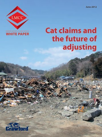 Cat claims and the future of adjusting - Crawford & Company