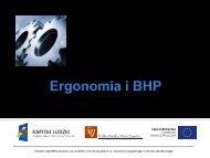 Ergonomia jako nauka interdyscyplinarna
