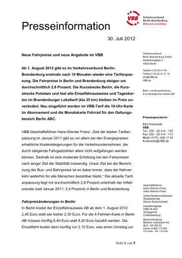 Komplette Pressemitteilung