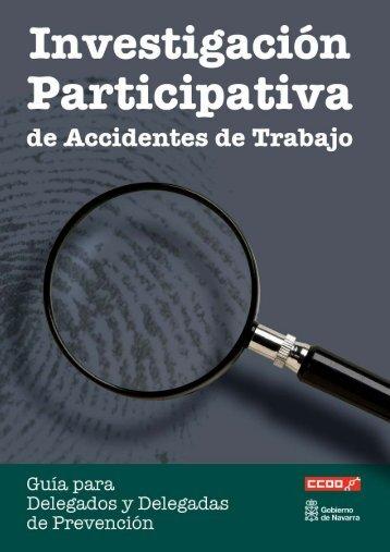 Guia Investigacion Accidentes - Comisiones Obreras de Navarra