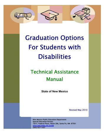 Graduation Options For Students with Disabilities - New Mexico ...