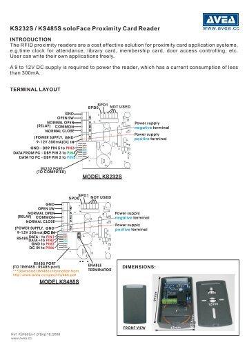 KS485S user manual