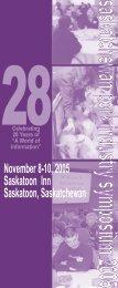 November 8-10, 2005 Saskatoon Inn Saskatoon ... - SaskPork