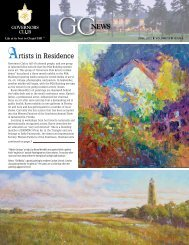 Artists in Residence - Governors Club Property Owners Association
