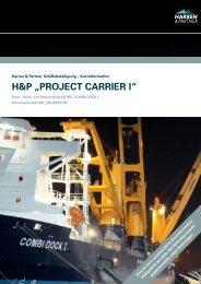 "H&P ""PROJECT CARRIER I"" - Harren & Partner"