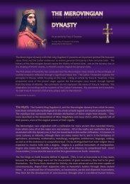 The Merovingian dynasty with their king Dagobert II ... - Dhaxem