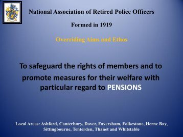 National Association of Retired Police Officers Formed in 1919 ...