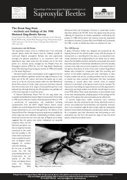 methods and findings of the 1998 national stag beetle survey