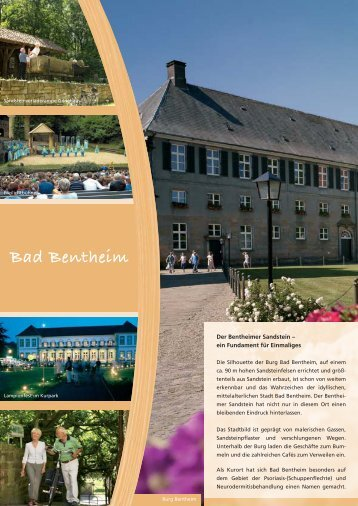 Bad Bentheim - Im Land der Pioniere