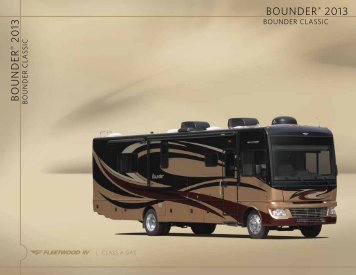 Bounder Classic Brochure