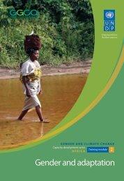 Module 2: Gender and Adaptation - Gender Climate