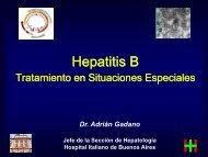 HepatitisB. Tratamiento en Situaciones Especiales. (2ª parte)