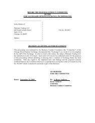 09-0033 Platinum Trading LLC - CBOE