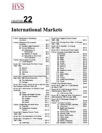 Hotel Investments Handbook - Chapters 22-24 - HVS.com