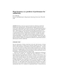 Hoop frequency as a predictor of performance for softball bats