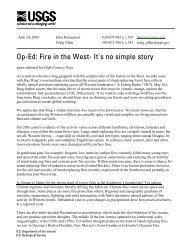 guest editorial that appeared in High Country News, July 1, 2003