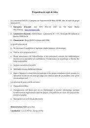Proposition de sujet de thèse - DAVFI