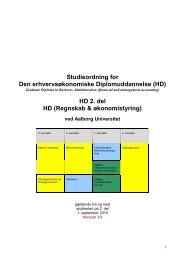 HD 2. del HD (Regnskab & økonomistyring) - Det ...
