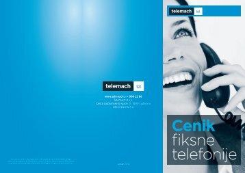 Cenik fiksne telefonije - Telemach