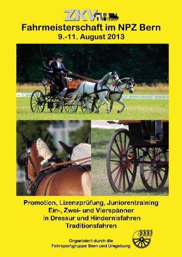 Programm - Fahrsportgruppe Bern