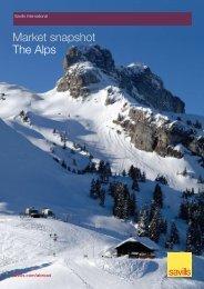 Market snapshot The Alps - Ski chalets for sale