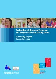 Evaluation of the overall success and impact of ... - YoungBallymun