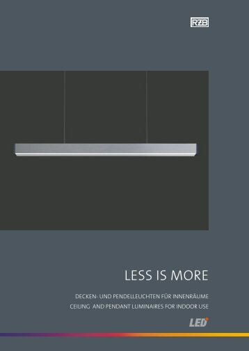 Less is more - RZB Leuchten