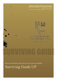 Surviving Guide UP - Universidad Panamericana