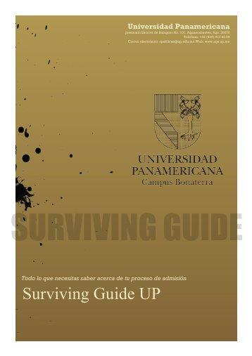 Surviving Guide UP - Universidad Panamericana