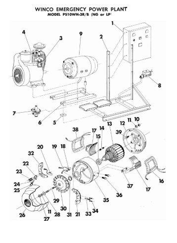 2003 Suzuki Sv650 Starter Ignition Interlock System Wiring Diagram besides Kohler 12 5 Engine Diagram in addition John Deere 4020 Tractor Steering Diagram also Generac Control Panel also Schematic Power On Hp. on portable generator engine wiring diagram
