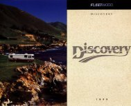1998 Flyer & Brochure - Discovery Owners