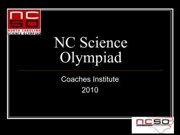 2010 Coaches Institute Presentation