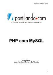 Php pdf websites com desenvolvendo